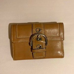 Coach Soho Leather Compact trifold wallet